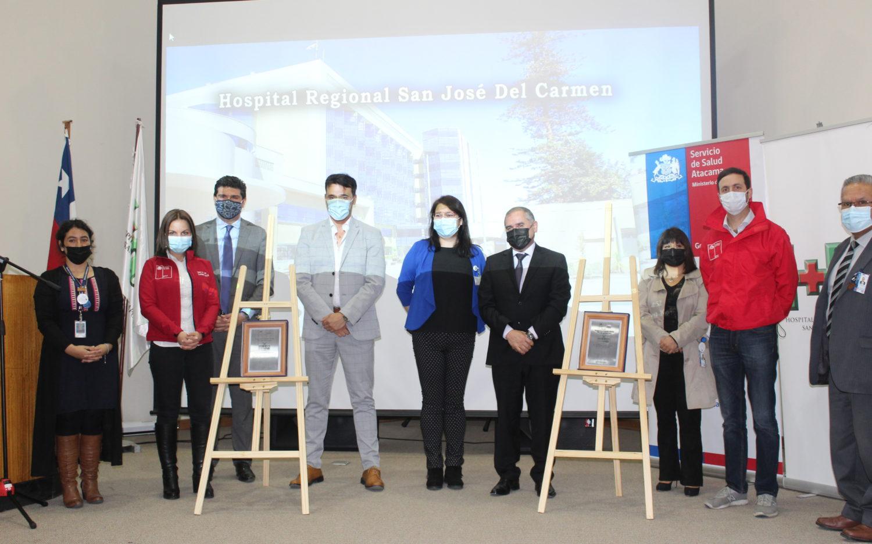 Servicio de salud y hospitales de Atacama primeros en recibir preacreditación de estado verde a nivel nacional